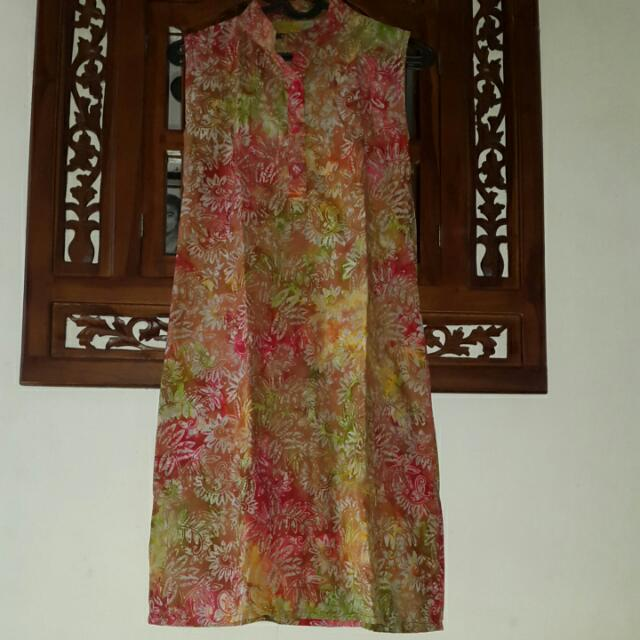 Batik Mididress From Jogja #prelovedkusayang