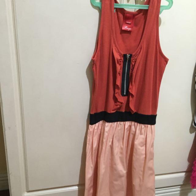 Bayo Orange Dress