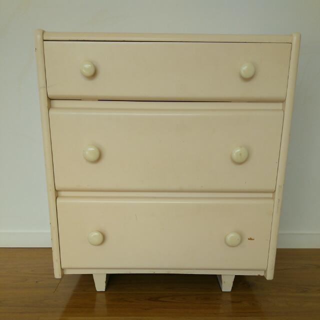 Bed Side Drawer Table