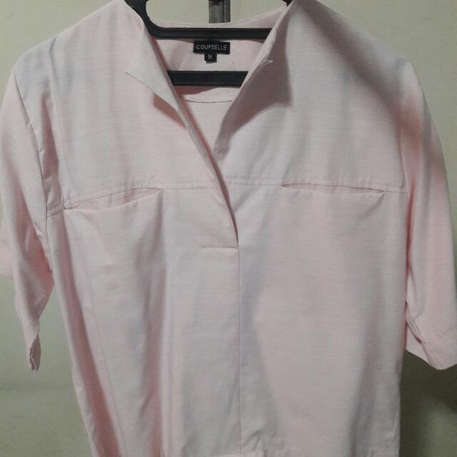 Berry Benka (Coupbelle) Blouse Pink