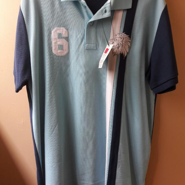 Brand New With Tag Net Polo Shirt XL For Men