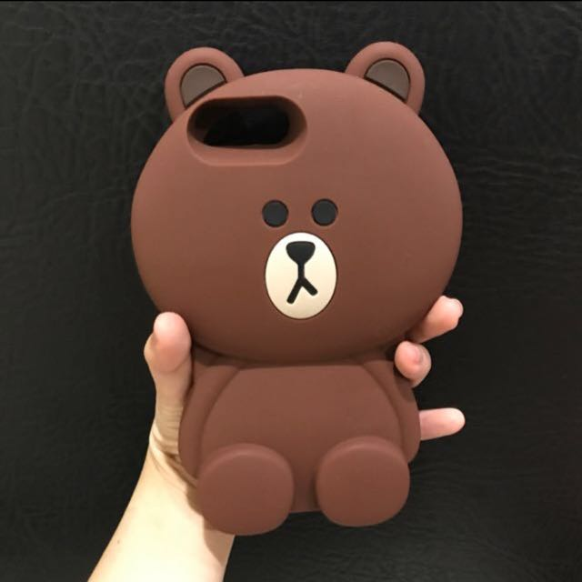 Brown Case For Iphone 7 Plus