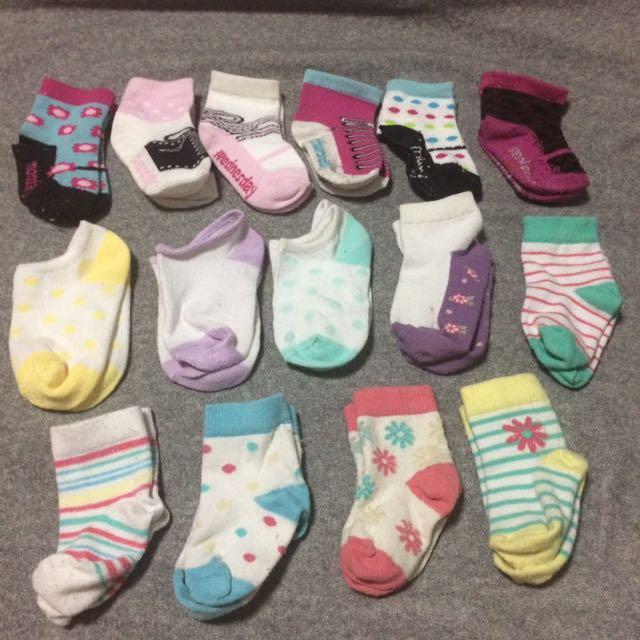 Buy ALL - Baby Socks 14 pairs