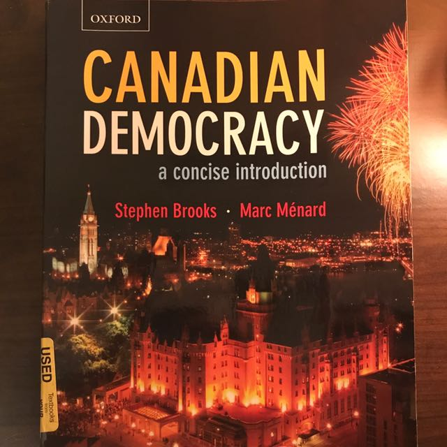 Canadian Democracy - A Concise Introduction