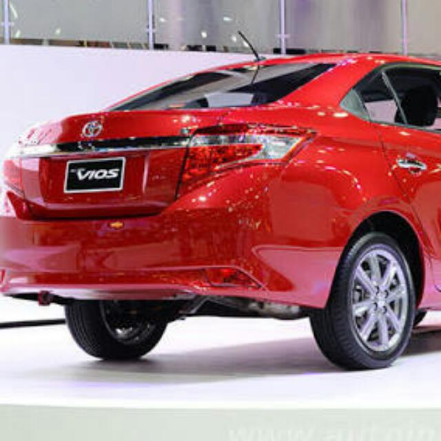 Car Rental (Red Vios) with Driver