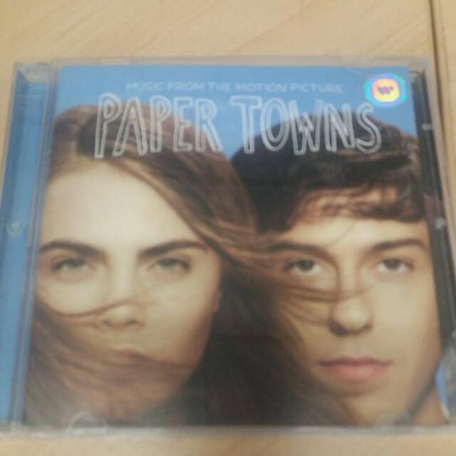 CD soundtrack Paper Towns