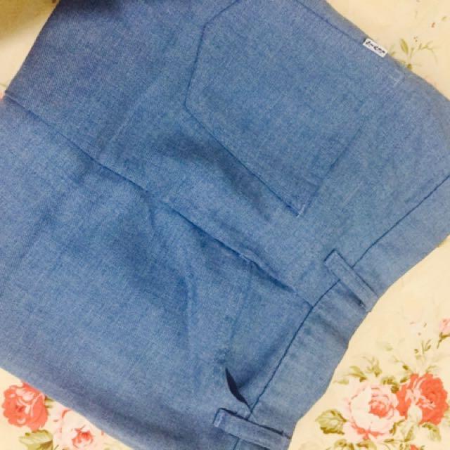 celana ponggol jeans