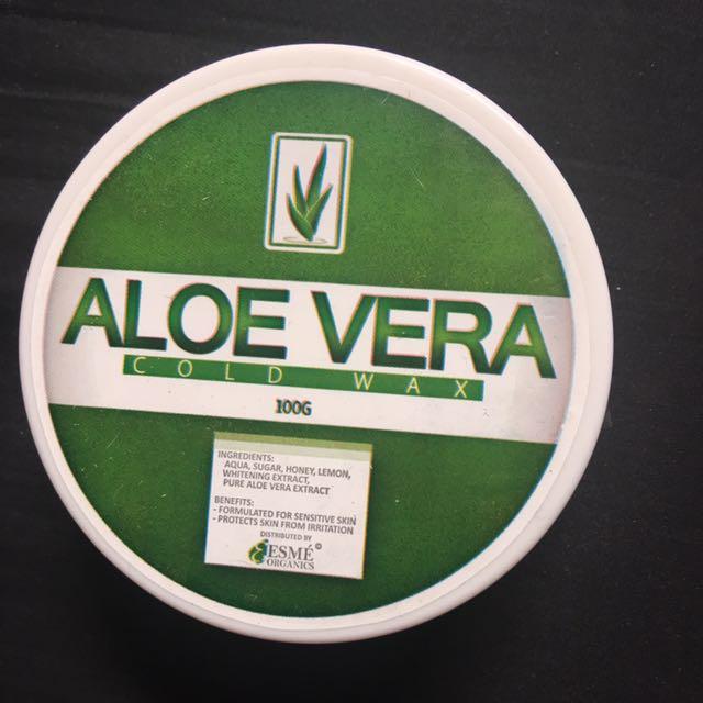Cold Wax Aloe Vera