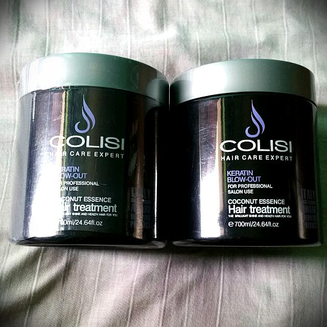 COLISI Hair Treatment Keratin Blow out Take two for 250