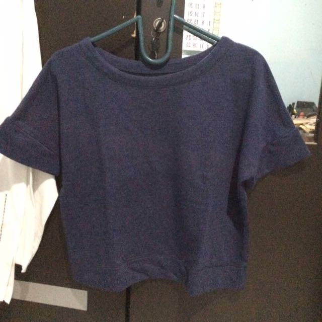 Colorbox Crop Shirt