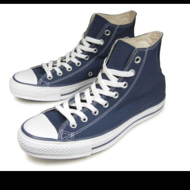 da5db194a7c2ef Converse All Star High cut Navy