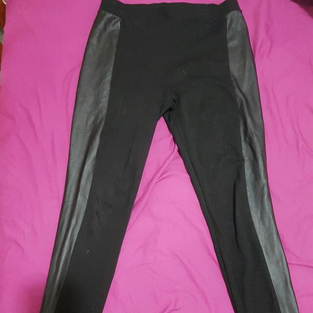 Cotton On Leather Tights