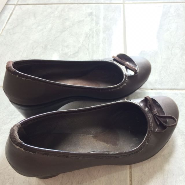 Crocs Wedges - Brown