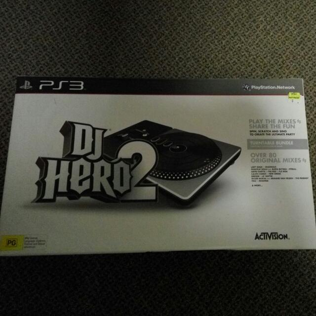 DJ Hero 2 PlayStation 3 (Accessory only)