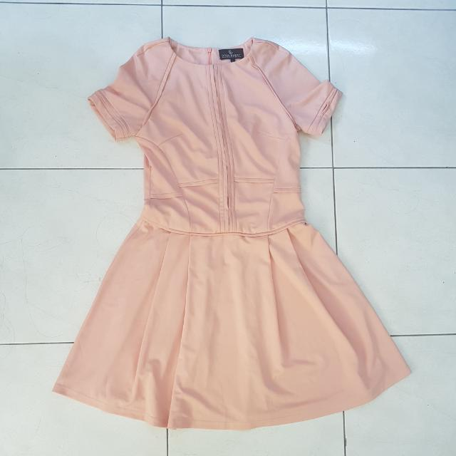 Doublewoot Salmon Pink Dress