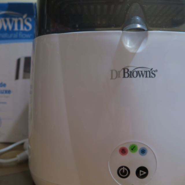 Dr brown's deluxe sterilizer with cooling effecf