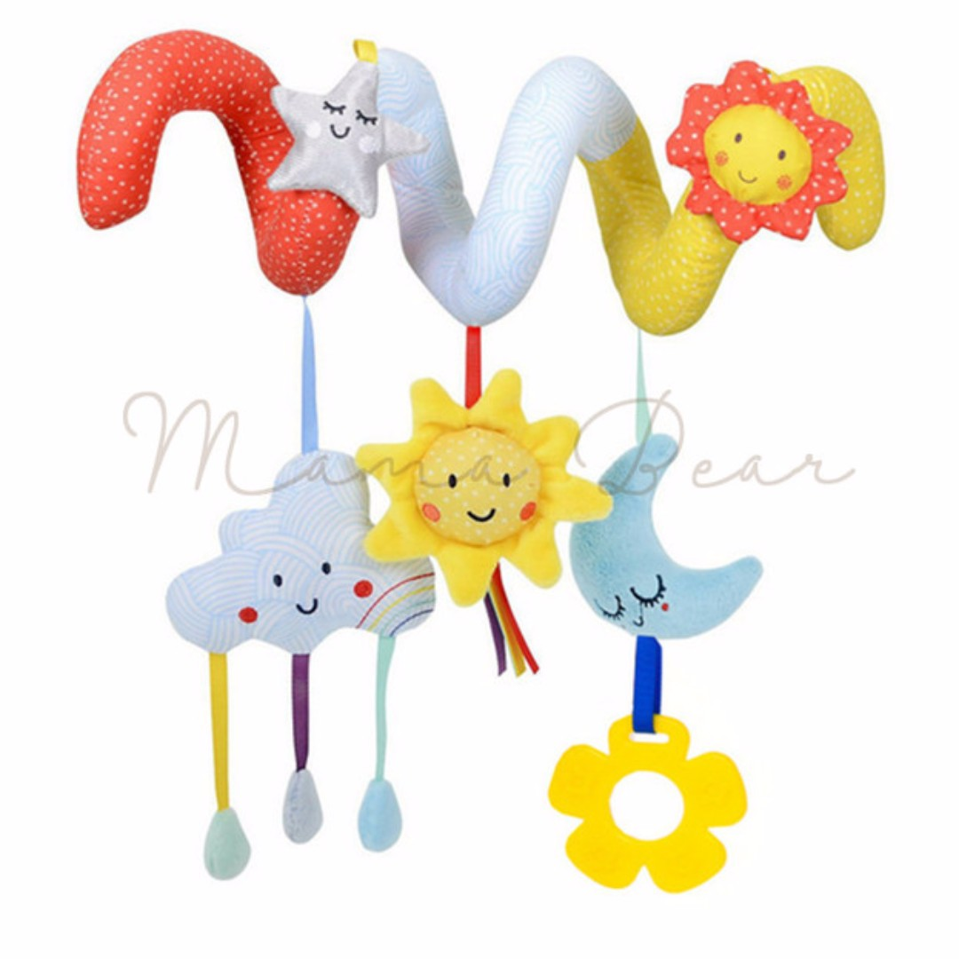 Dreaming in Night Wrap Around Baby Crib Toy