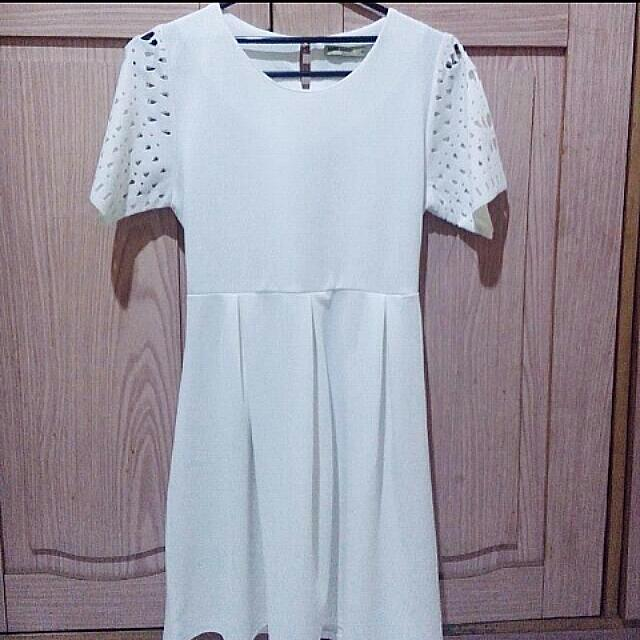 White Dress By Ada Woman