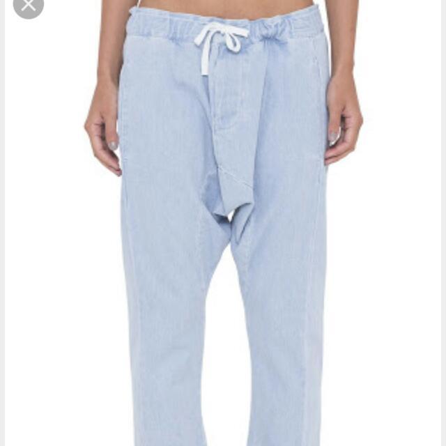 Drop Crotch Assembly Jeans