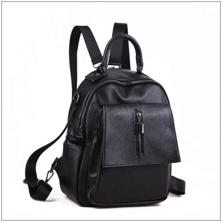 EL 962 Black Tas Ransel Tas punggung wanita Backpack murah f8852479eb