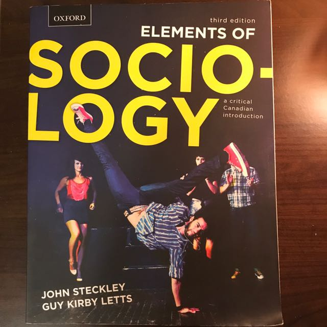 Elements Of sociology (Third Edition)