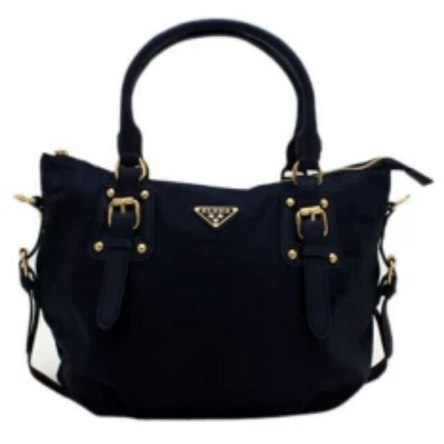 Elena Bag Set (Navy Blue)