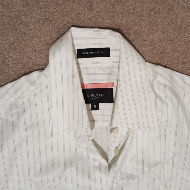 Farage White Dress Shirt