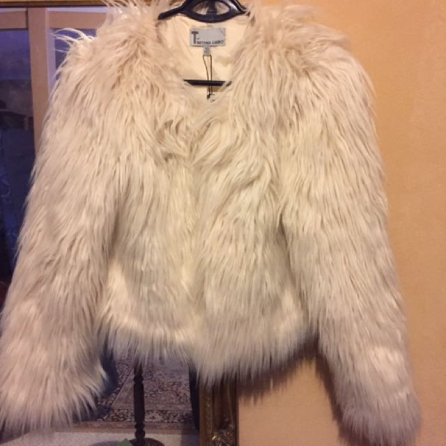 Faux Fur Coat New With Tags