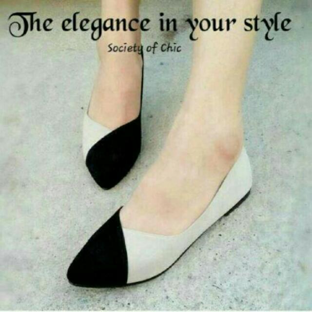 Flat shoes combinasi (fs)