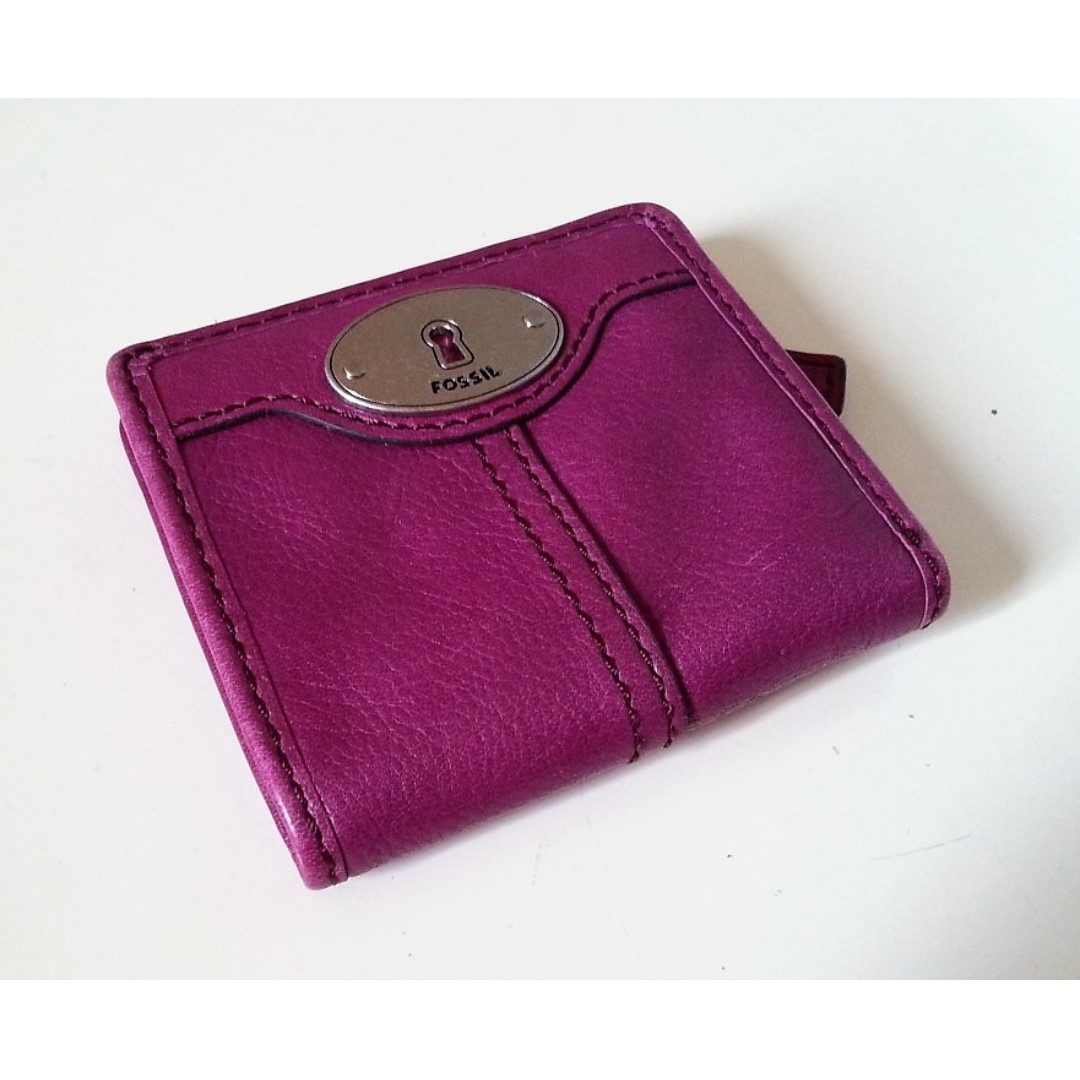 Fossil Maddox Bifold Leather Wallet