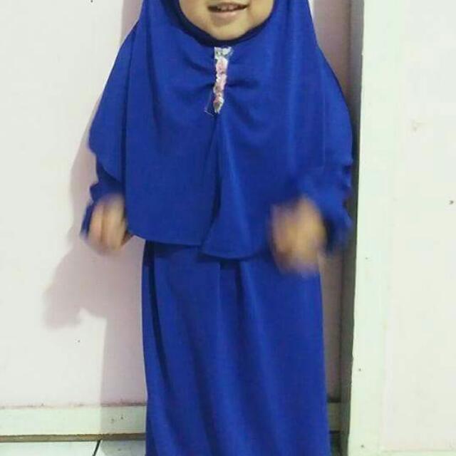 Gamis Syari Anak Size 1-2thn