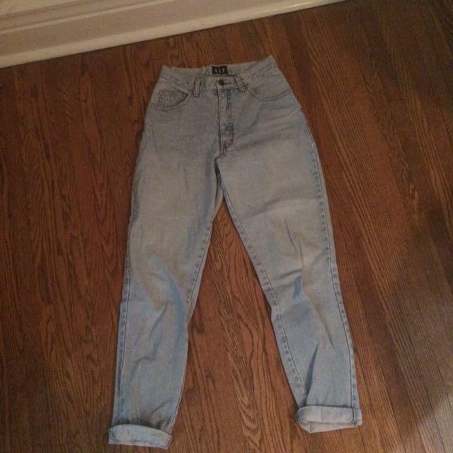 Gap vintage light blue mom jeans