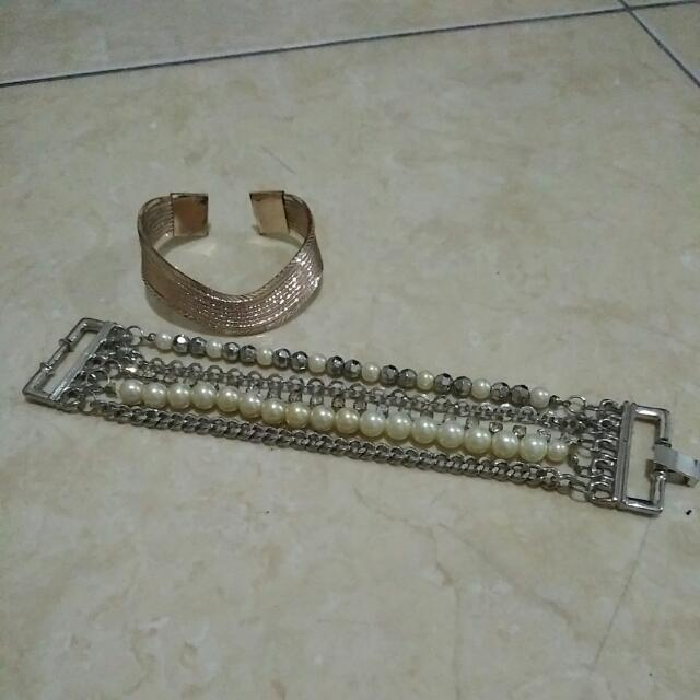 2pcs Gelang Fashion