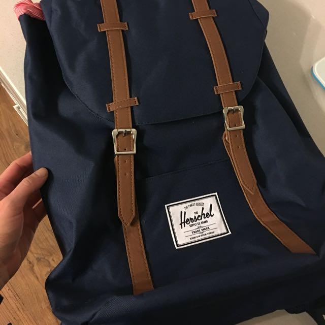 Genuine Herschel Navy Backpack