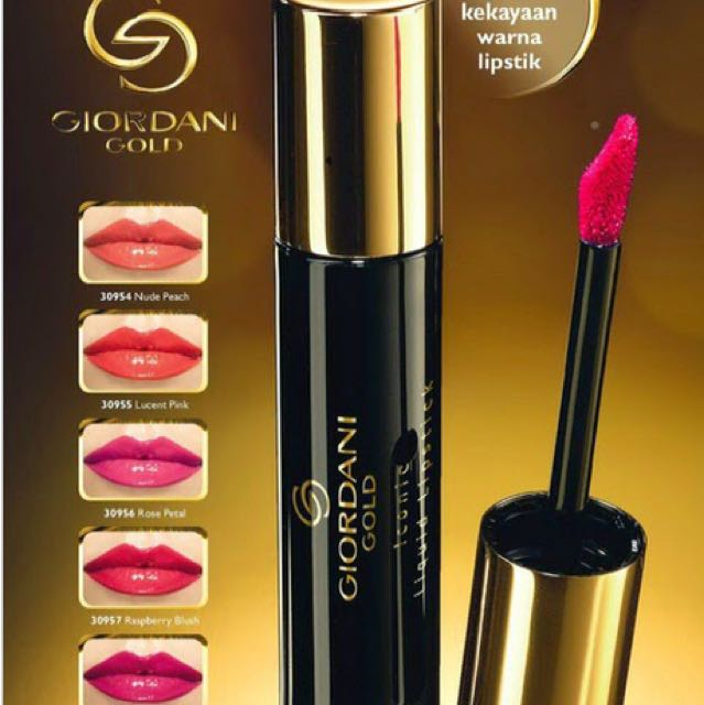 Giordani Gold Iconic Liquid Lipstick Raspberry Blush