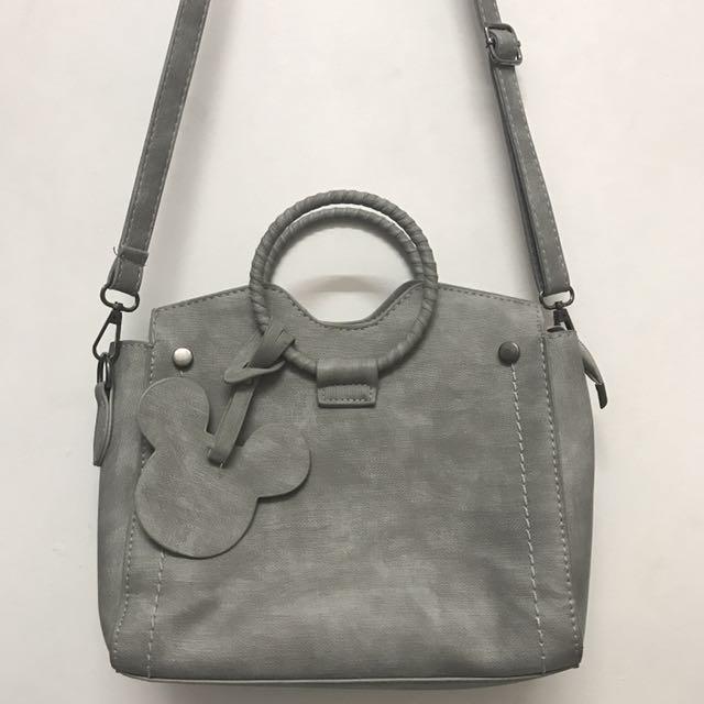 grey mickey slingbag