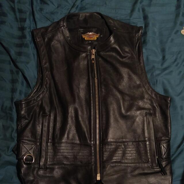 Harley Davidson bike vest