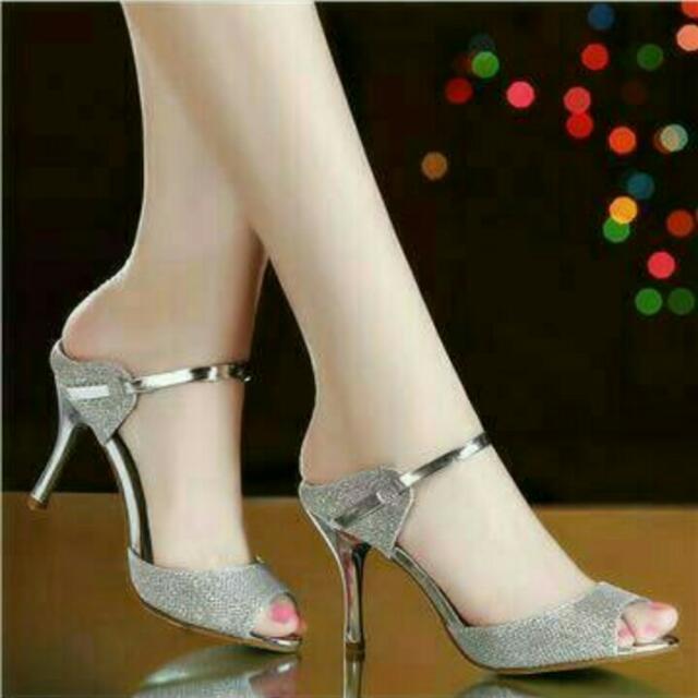 Heels pesta silver (FS)