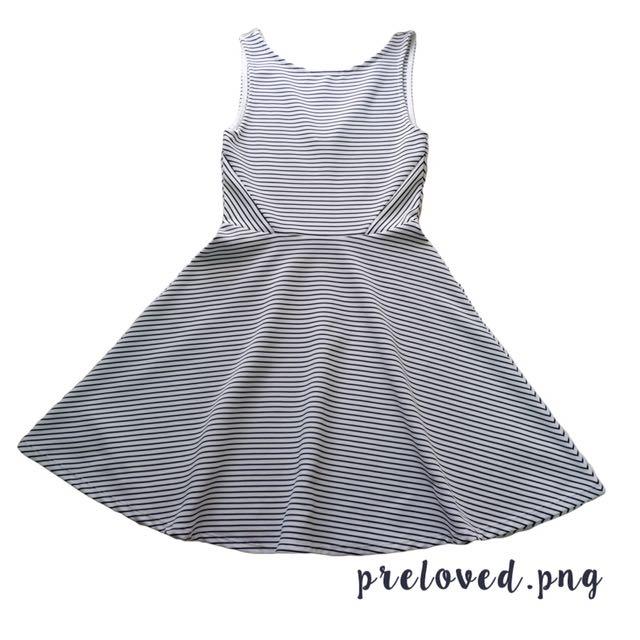H&M DRESS ( Stripes )