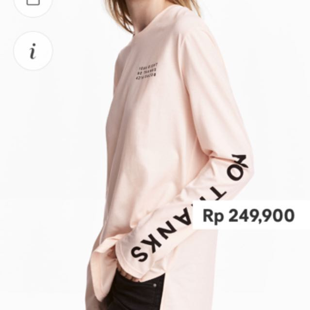 h&m SALE Long Sleeved T-shirt