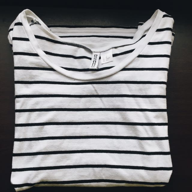 H&M: Striped Tee