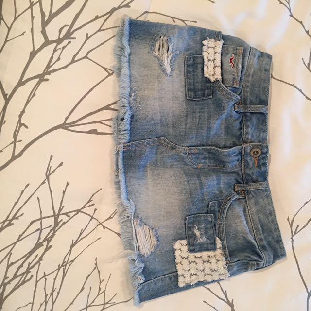Hollister Jean Skirt