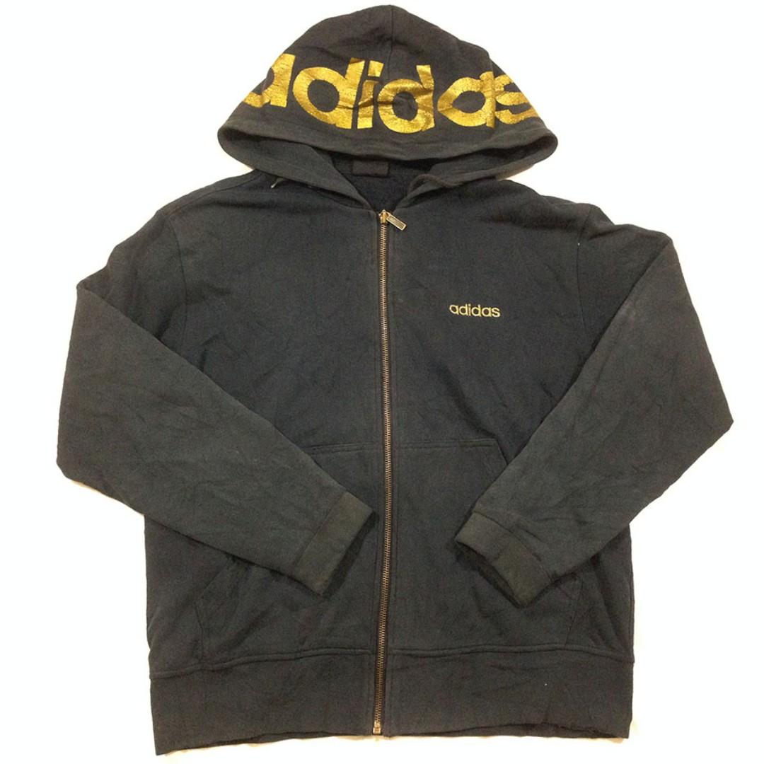 Zip Hoodie Adidas Made In Korea L Second import Murah