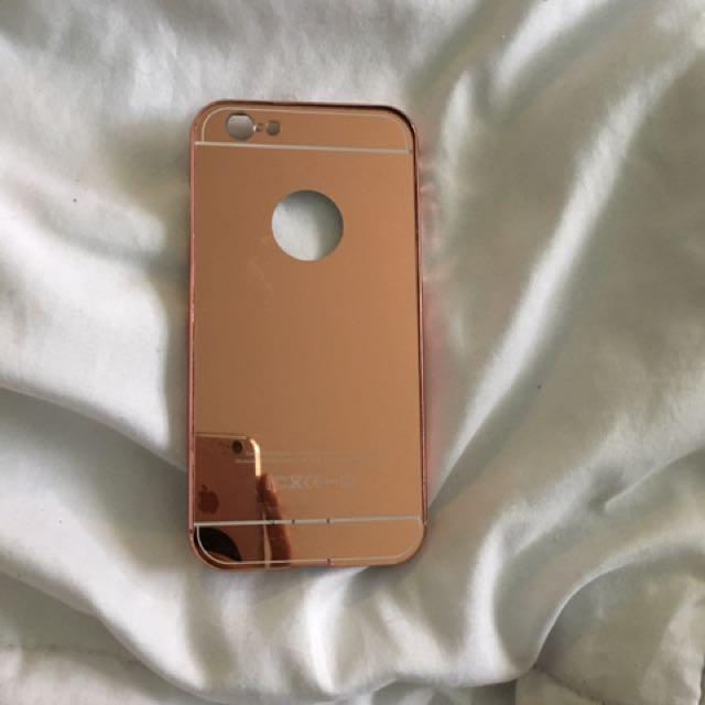 I Phone 6/6s Rose Gold Mirror Case
