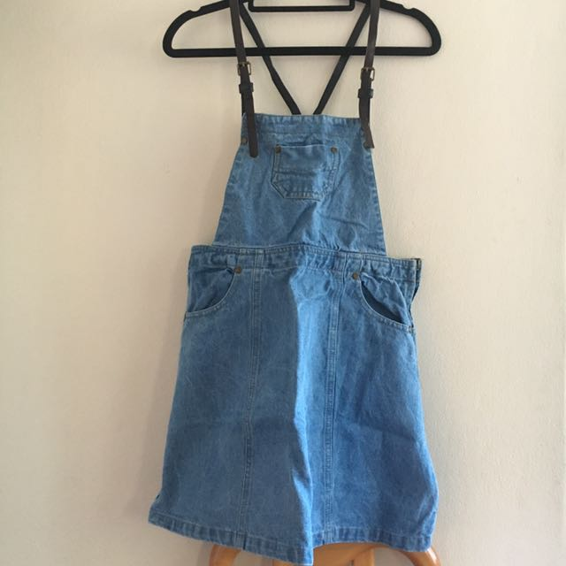ICE Denim Pinafore Overall Dress