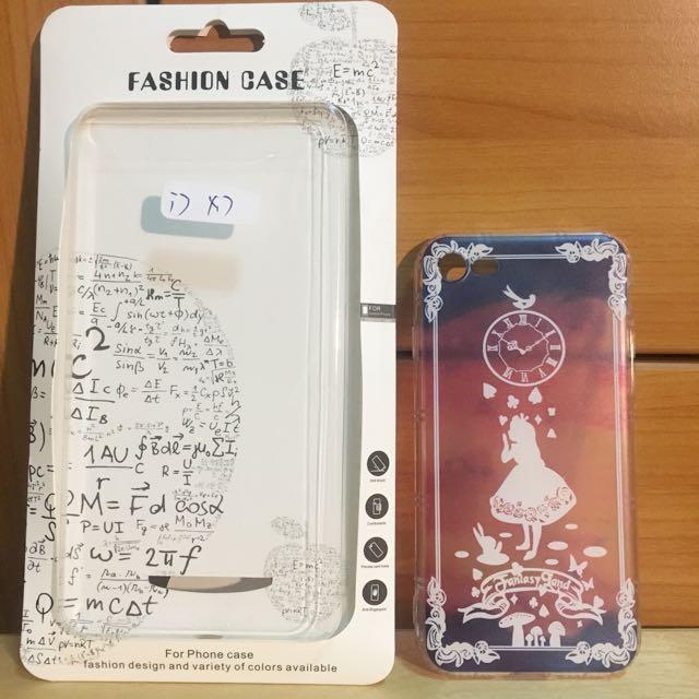 愛麗絲透明彩繪手機殼iphone7