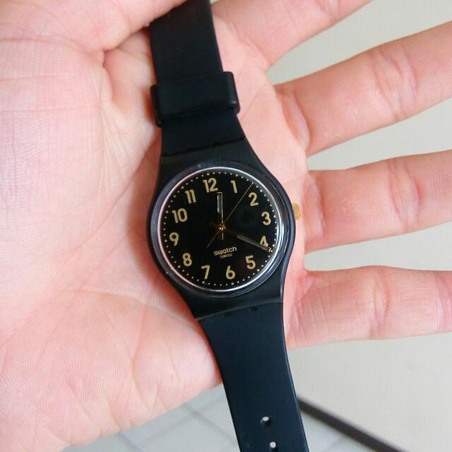 Jam Tangan Swacth GB274 Golden Tac Original