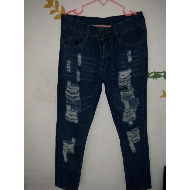 Jeans robek2