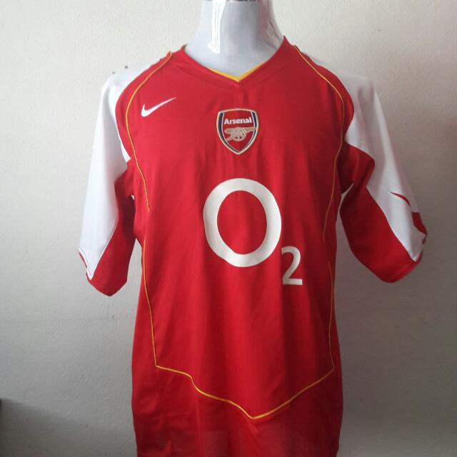 size 40 1767f 48f70 Jersey Arsenal 2004 Size: L