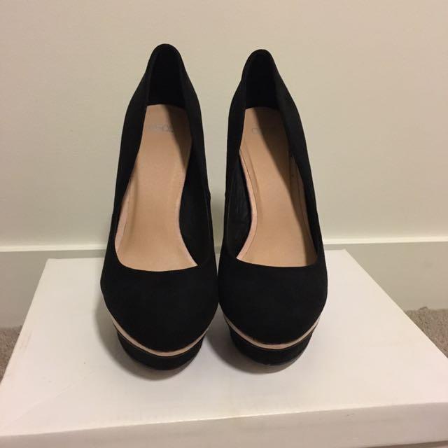Killer Black Heels